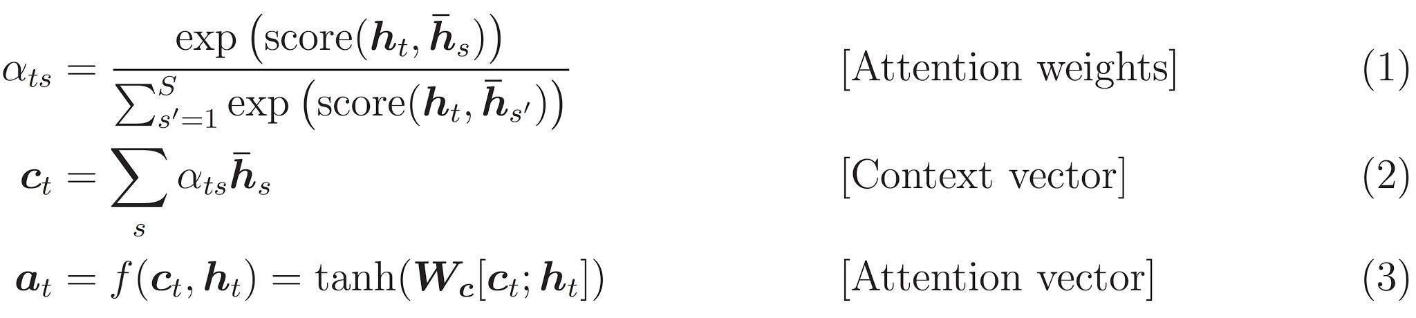 equação de atenção 0